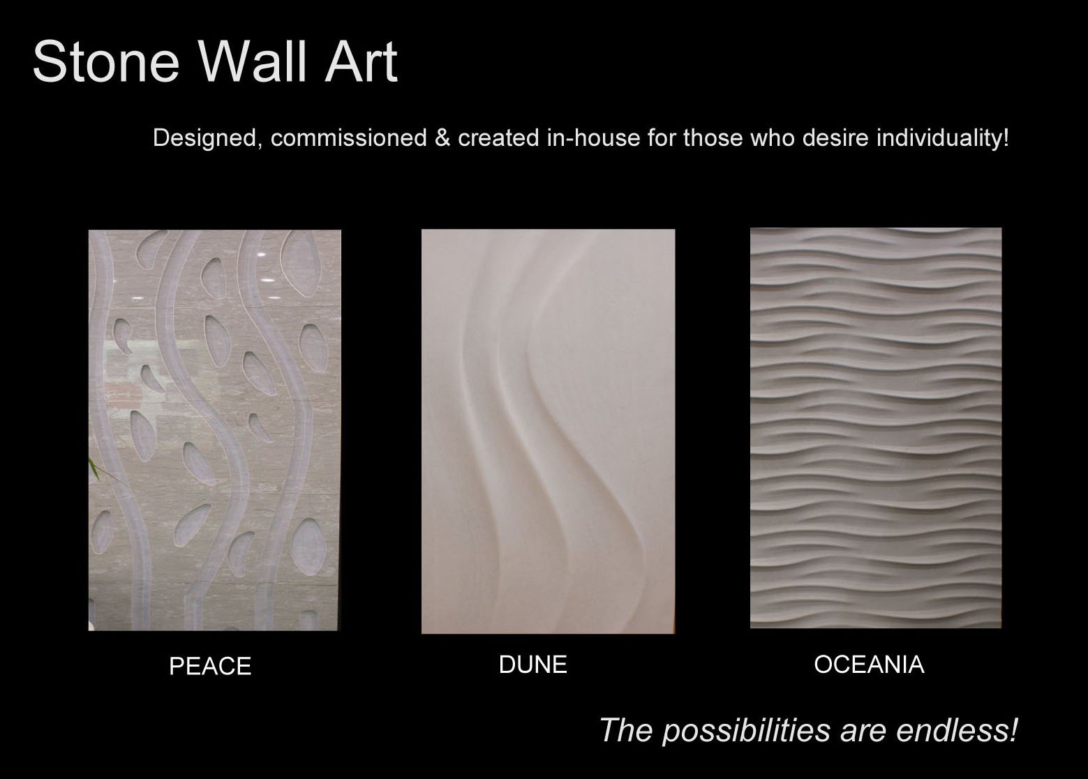 Stone wall art for Stone wall art