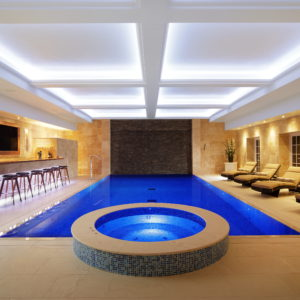 Crema Europa Limestone Pool & Spa surround