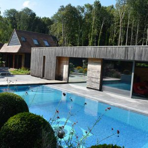 Broughton Limestone outdoor pool.