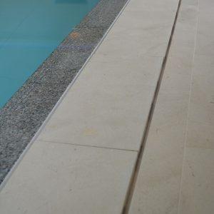 2x linear slot - deck level grille by Cranbourne Stone Ltd.