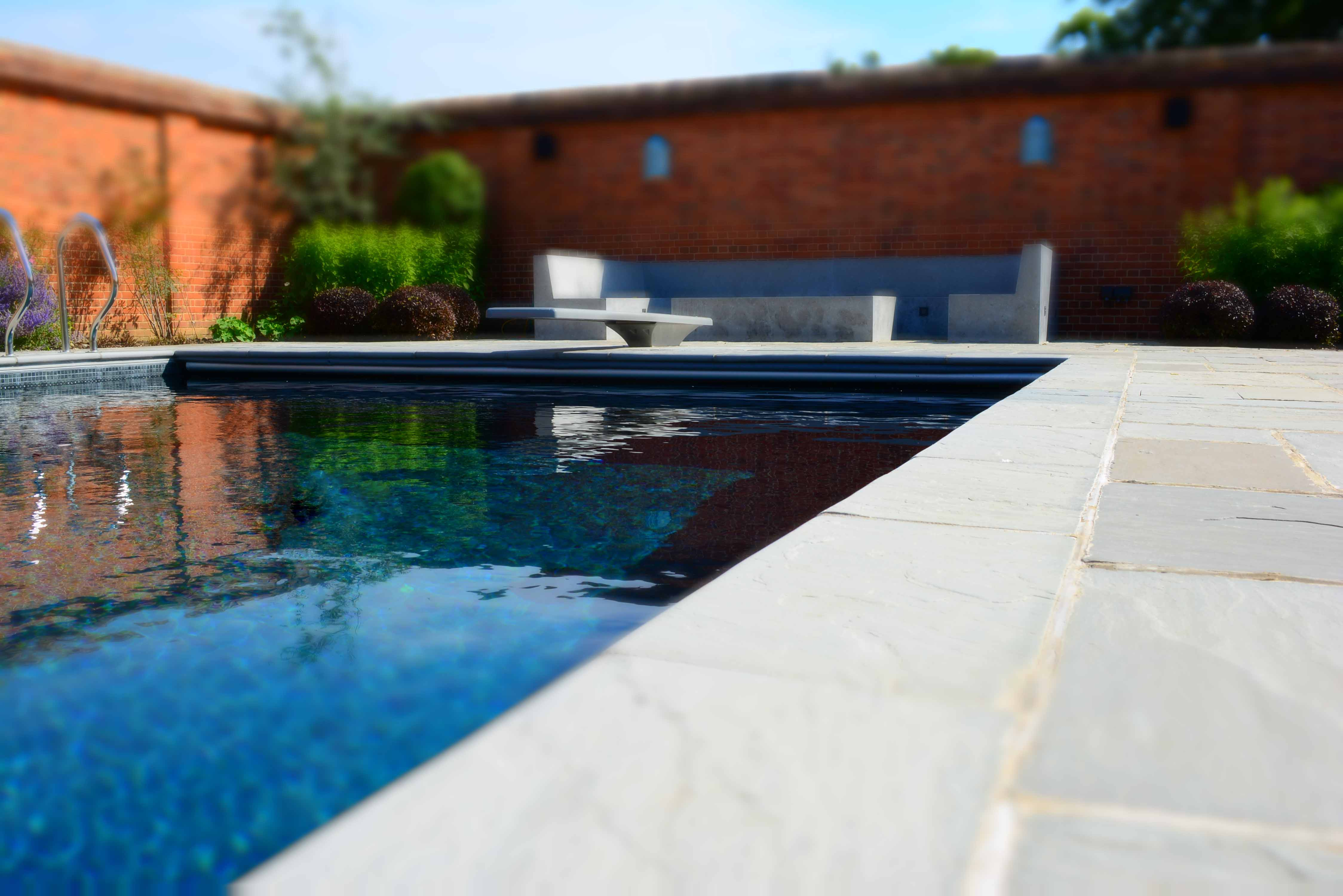 Swimming pool copings cranbourne stone for Barnstaple swimming pool timetable