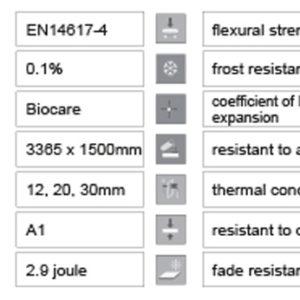 Lapitec® Product data