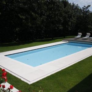 Lapitec® surround on pool