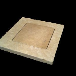 Square skimmer lid.
