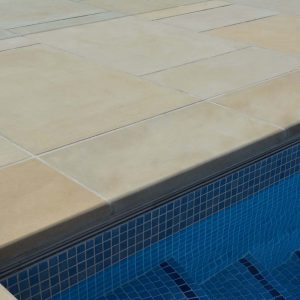 Danebury Sandstone pool coping and surround