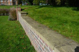 Riven York wall cappings
