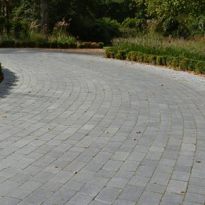 Blue Limestone cobbles for driveways and patios.