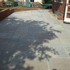 Downton Limestone patio area