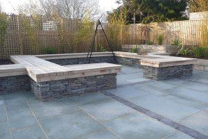 Downton Limestone patio paving