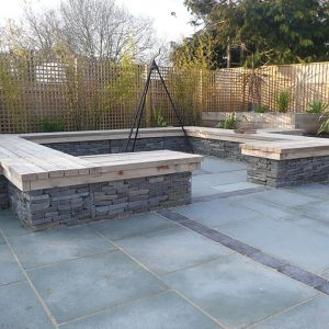 Downton Limestone patio paving