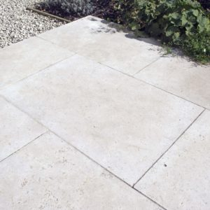 Fossil Pearl Tumbled paving