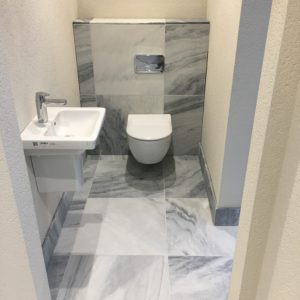 Pembury Marble floor and wall tiles