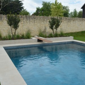 Leckford Sandstone swimming pool copings