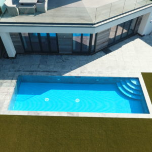 Montreal Granite - Outdoor pool copings and surround