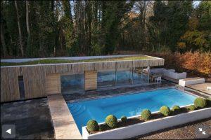 Broughton Sandblasted Limestone outdoor pool