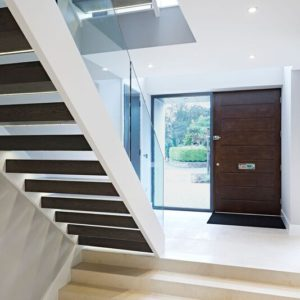 Crema Almera mitre bonded steps by Cranbourne Stone