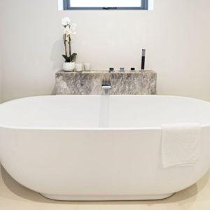 Tundra Marble in bathroom