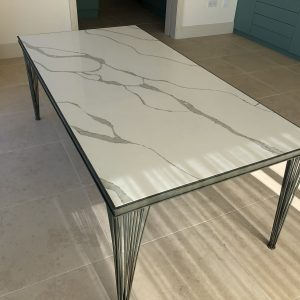 Statuario Quartz Tabletop