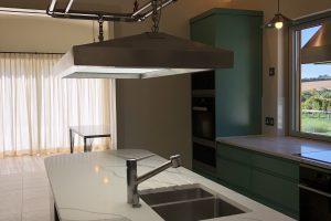 Statuario Quartz Kitchen Worktop