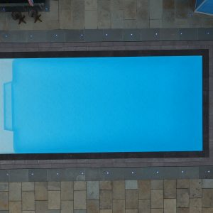 Tichborne and Cheriton Outdoor Swimming Pool, Mono Deck Level Swimming Pool Surround.